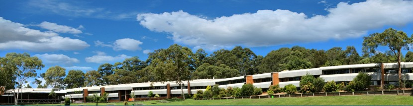 A side shot of Terrigal High School